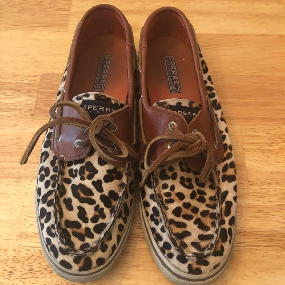 Sperry Shoes - Comfortable Sperry Cheetah Loafers - Women's 9M